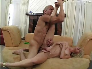 Hot Blonde In Anal Action