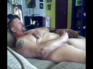 Playing With His Cock