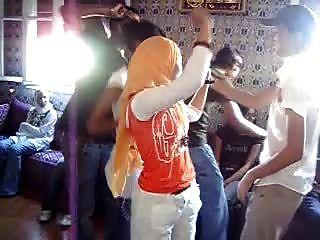 Arab Hijabi Whore Dancing 7