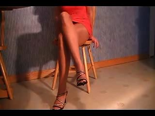 Bonny In Tan Pantyhose Part 1