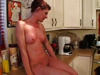Linda Fucks In The Kitchen