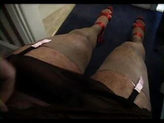 Brown Slip Wank