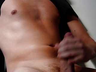 Close-up Cumshot After Handjob