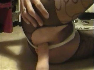 Anal Cum And Wet Thong In Anal Games
