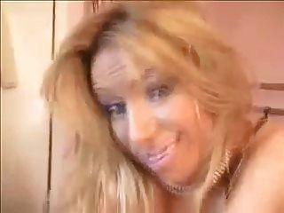 Gorgeous Blonde In Ffs