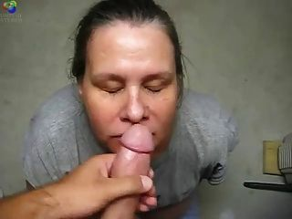 Mature Head #36 (on Her Knees Taking A Facial)
