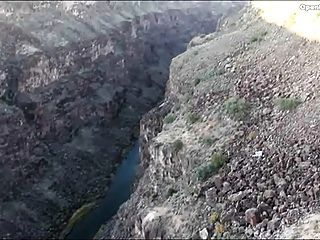 Public Fuck In A Canyon