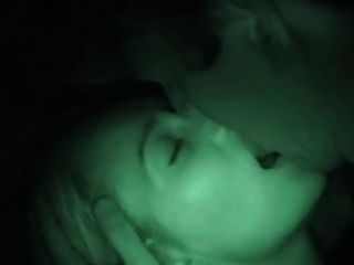 Suz Fucks In The Dark With Her Legs Wrapped Around Her Lover