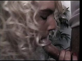 Blonde Chick Sucks Big Hard Cock