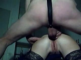 Hot Amateur Couple In Short But Sweet Anal Action 2