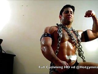 Chained Cumshot!