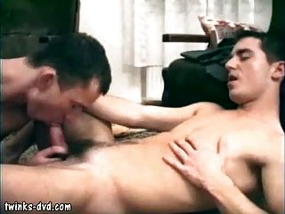 Hot Foursome Gay Sex After A Party