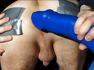 My First Dildo Fucking My Gaping Asshole 6.5cm April 2013
