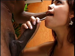 Ebony Chick Bangs A Hot Pussy