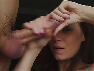 One Hell Of A Facial On A Talented Girl