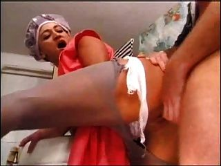 Mature Anal Fuck In Washroom