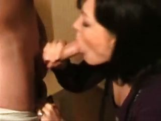 Slut Sucks Cock And Gets A Facial