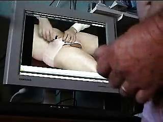 Cumming Wearing Panties