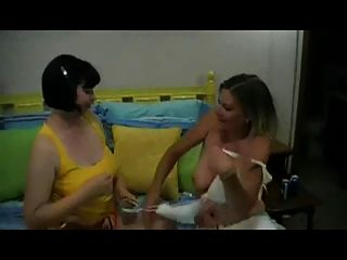 Horny Fat Chubby Lesbians Having Fun And Feet Playing