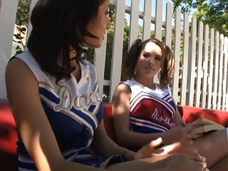 Lesbian Cheerleaders 2
