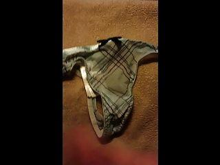 Stolen Panty Cum 3