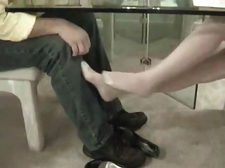 Nylon Feet Seduction