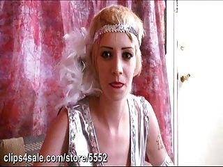 Petite Costumed Blonde Sucks And Fucks Judge