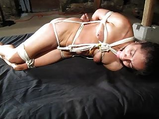 Tied Up Tight And Struggling
