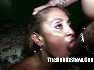 Tattoo Man Fucks Puerto Rican Pussy Freak