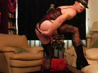 Me Dressed Up Wanking In My Daughters Underwear