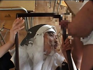 Nun Gets A Tribute And Eats It