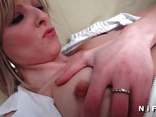 Sextape French White Chick Gets Ass Fucked By A Black Dick