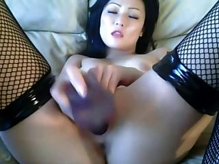 Asian Toying With Herself