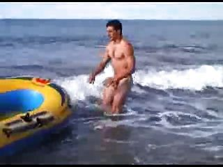 Guy On The Beach