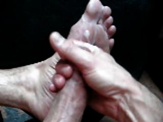 My Hot Foot And Cum