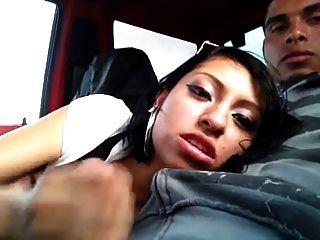 Blowjob In Car
