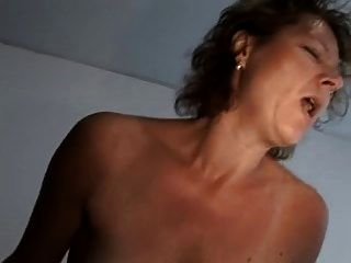 Hairy German Mature With Saggy Tits Takes A Younger Cock