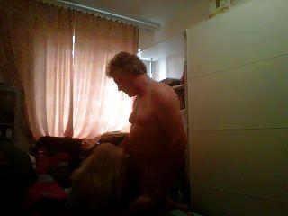 Blonde Russian Milf Doggy Bareback By British Guy