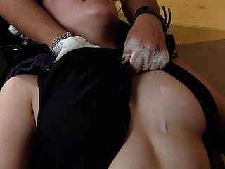 Witches Of Sappho Salon: Lesbian Kiss And Breast Grope