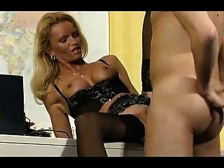 Post Man Fucks German Hot Lady In Office