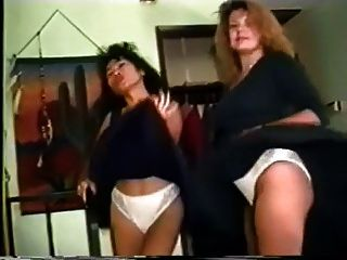 Two Mature Ladies Dance With Flying Skirts-qp