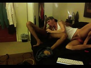 Interracial Gay Fuck (black And White Guy)