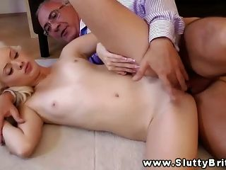 Hot Blonde Getting Oral While Sucking Cock