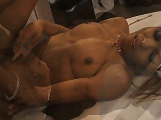 Ebony Couple Fuck Like Crazy