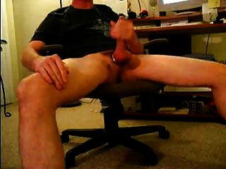 Legs Spread Wide- Worshipping Penis