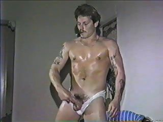 Cigar Smoking Hunk Scott In A Vintage Solo 3