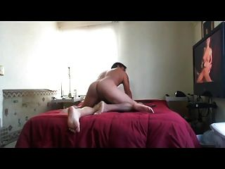 Str8 Mexican Fucking While Watching Porn