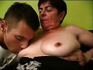 Ugly Mature Seduces A Guy And Sucks His Dick