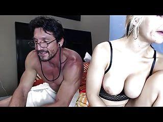 Sarah Getting Cum On Her Ass