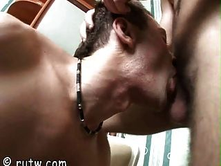 Well-hung Russian Boy Sucked Dry By His Gay Buddy